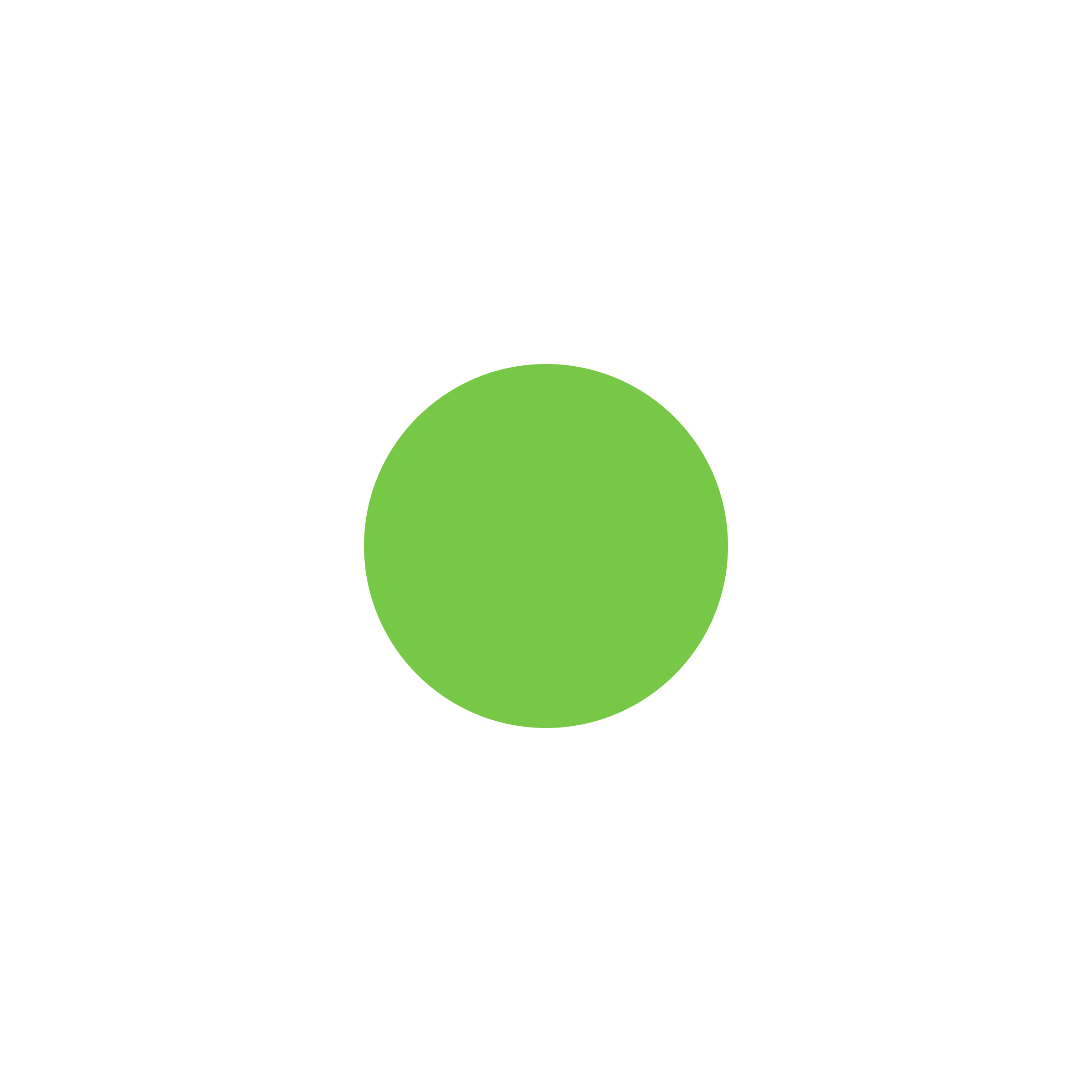 نشانگر سبز ثابت