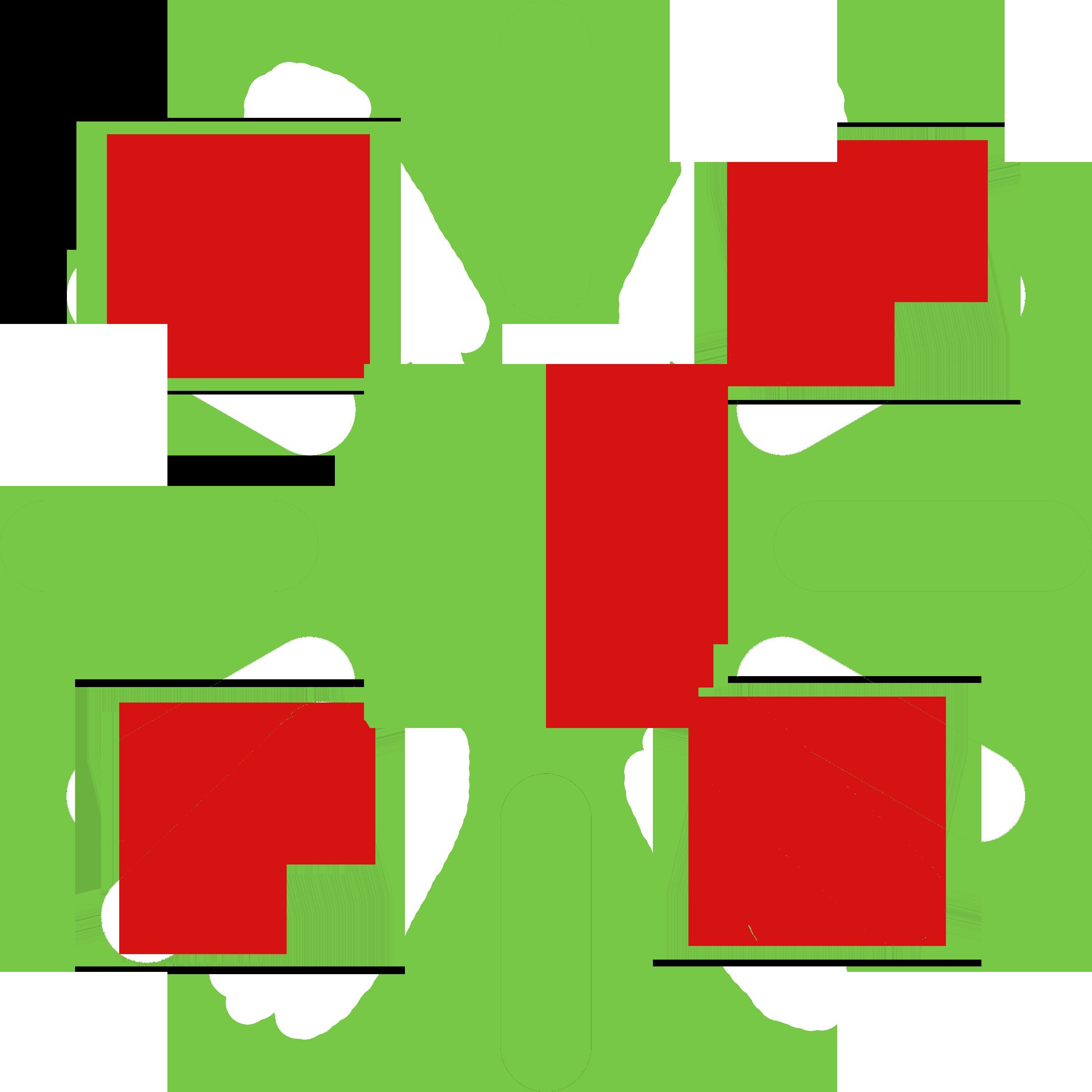 نشانگر سبز و قرمز چشمکزن