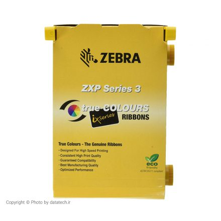 ریبون تک رنگ چاپگر کارت زبرا Zebra ZXP3