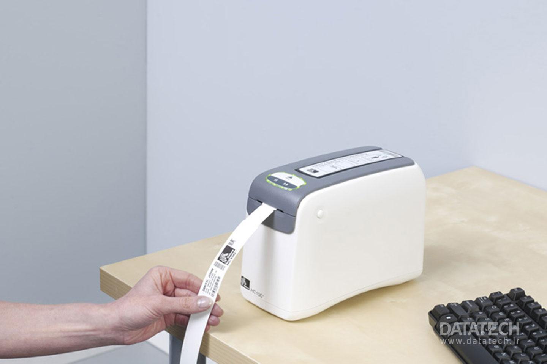 راهنمای چاپگر مچ بند شناسایی Zebra HC100