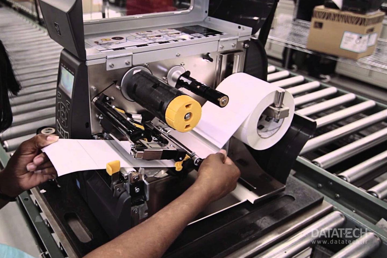راهنمای چاپگر صنعتی برچسب Zebra ZT410/ZT420