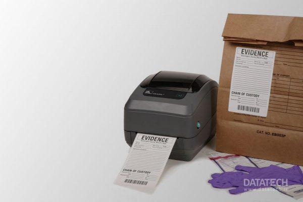 راهنمای چاپگر رومیزی برچسب Zebra GK420t
